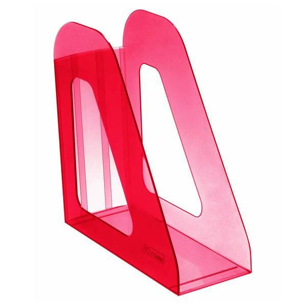 Лоток вертикальный СТАММ ФАВОРИТ ВИШНЯ 90 мм, тонированный пластик