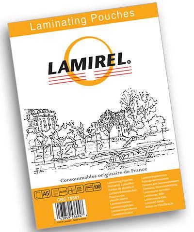 Пленка для ламинирования А5 LAMIREL 125 мкм