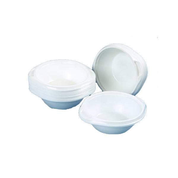 Миски белые для супа 0,6 л