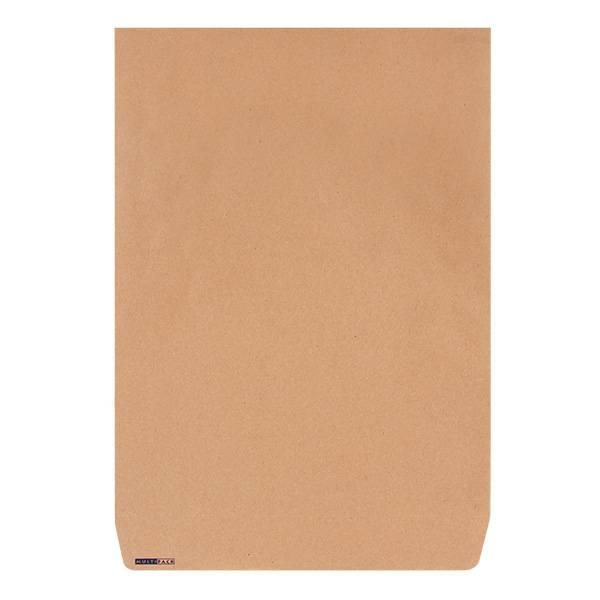 Пакет почтовый крафт 300х400 мм стрип, плоский