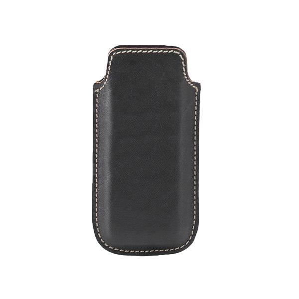 Футляр для мобилых телефонов TEXAS 75х125 мм универсальный кожа черный