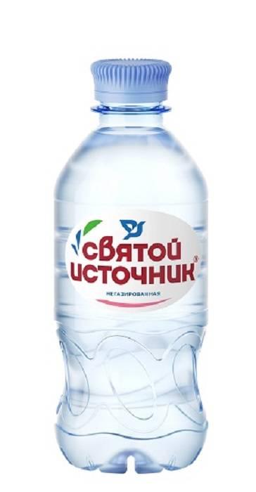 Вода питьевая Святой Источник ПЭТ 0,33л негаз.