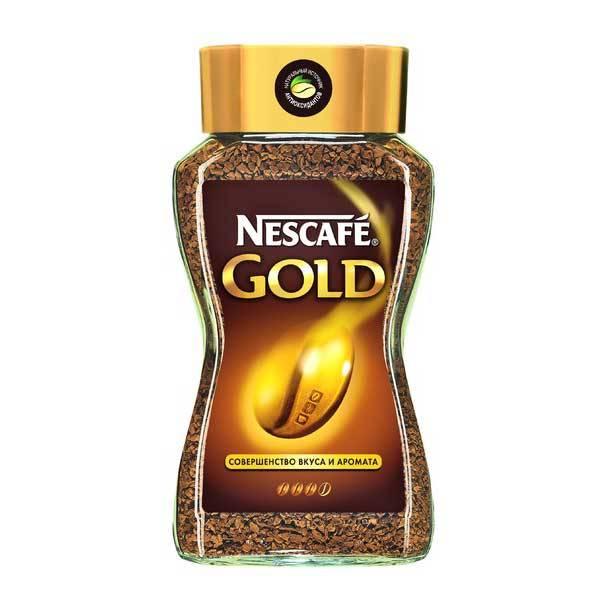 Кофе NESCAFE GOLD растворимый сублимированный 190 г. стекло