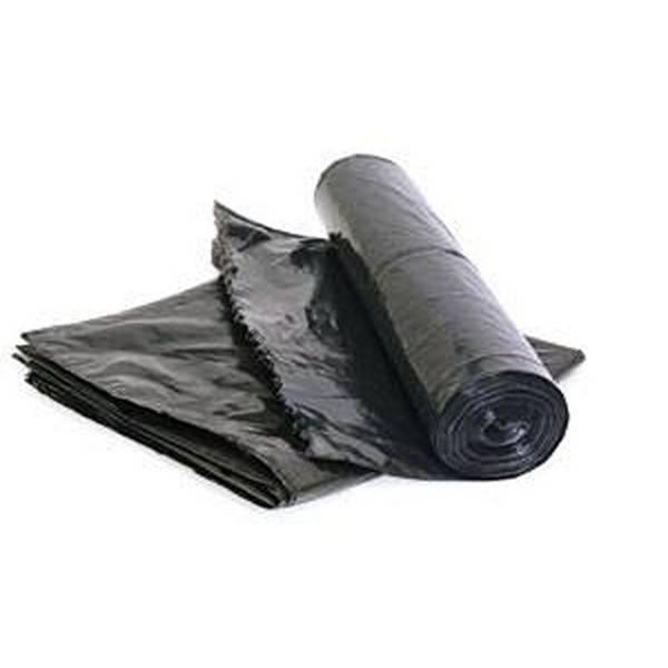 Мешки для мусора ПВД 70х110 см, 50-55 мкм, 120 литров