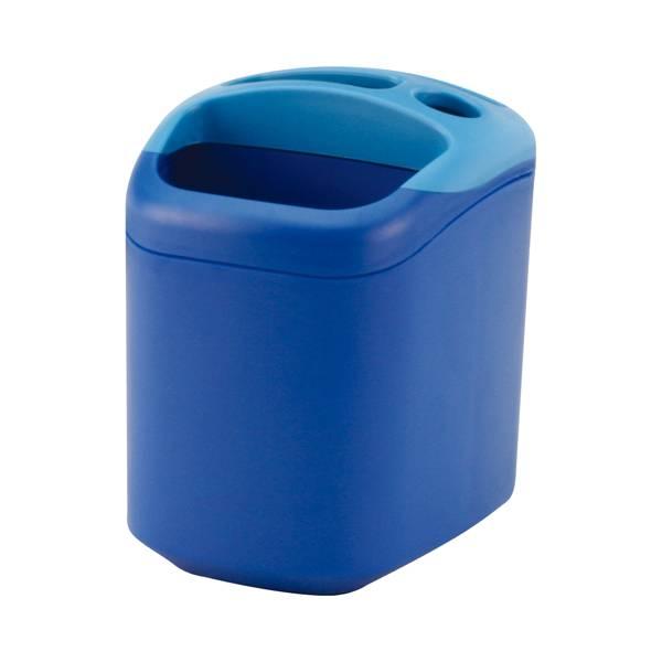Стакан для письменных принадлежностей EAGLE OMAX сине-голубой пластик