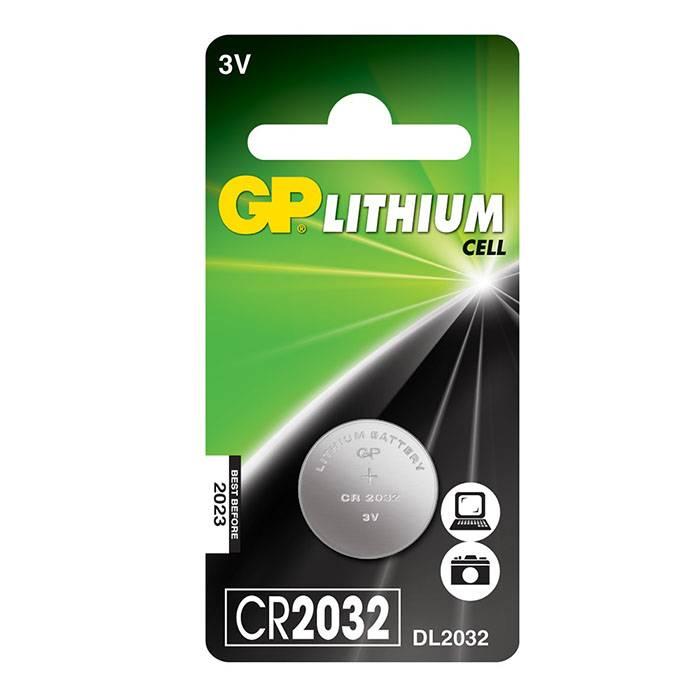 Батарейка GP CR2032 литий-ионная 3 V, блистер