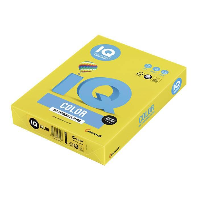 Бумага цветная IQ Color горчичная (80 г/м2, А4, 500л.)