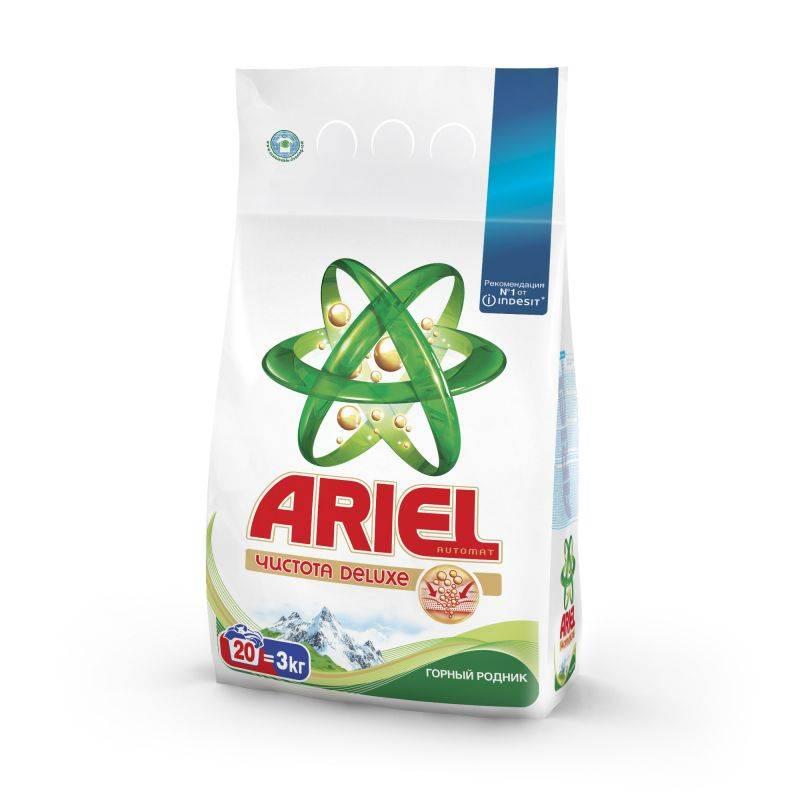Стиральный порошок автомат ARIEL ассорти 3 кг