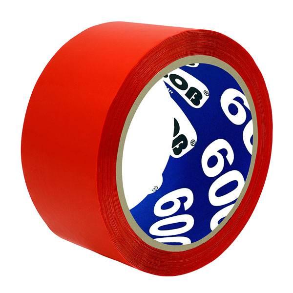 Лента упаковочная UNIBOB 48 мм х 66 м, 45 мкм красная