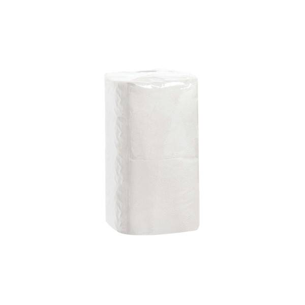 Салфетки бумажные, 1 слой, СЕМЬЯ И КОМФОРТ, 400 шт, 24х24 см, белый