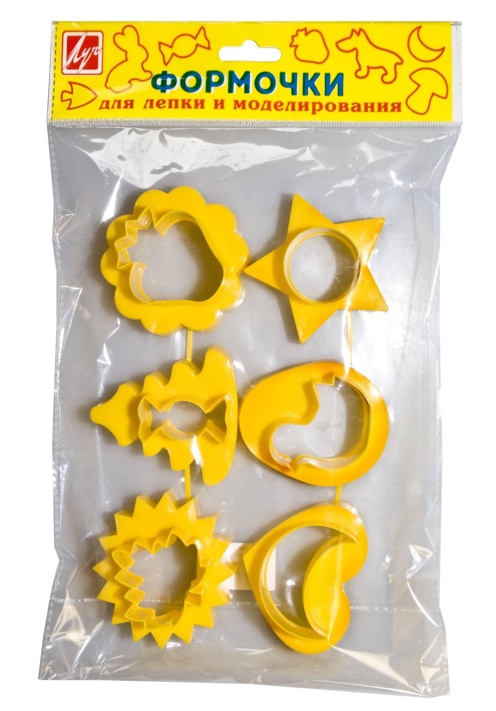 Формочки лепки и моделирования, пластик №2