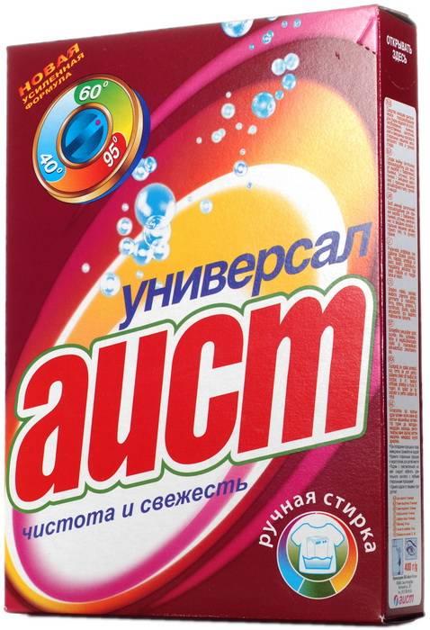 Порошок стиральный ручная стирка АИСТ Универсал 400 г