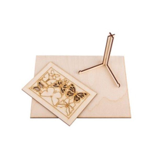 Изделие для декорирования АРТформат Панно с фоторамкой «Бабочки»