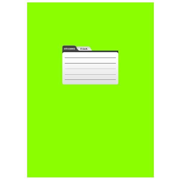 Тетрадь 80 листов ПАНТОН А4 в клетку, обложка мелованный картон, матовая ламинация, на скрепке ассорти