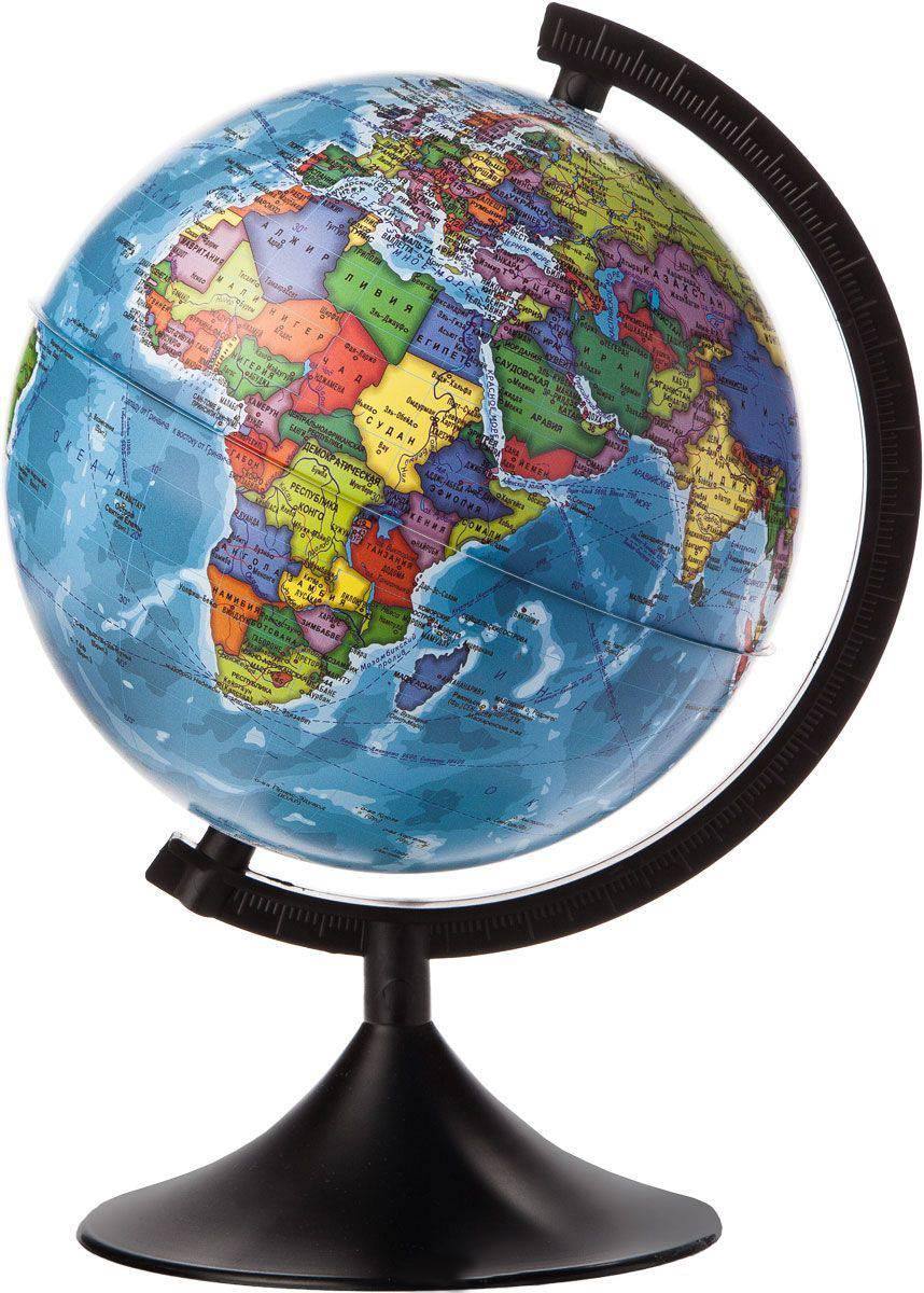 Глобус GLOBEN политический 21 см
