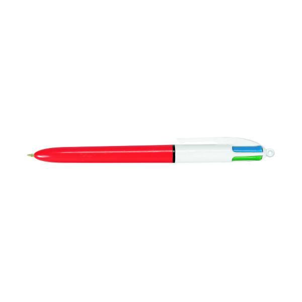 Ручка шариковая автоматическая 4 COLORS FINE 0,8 мм 4 цвета ассорти