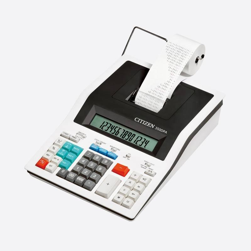 Калькулятор CITIZEN 14-разрядный бухгалтерский c печатающим устройством
