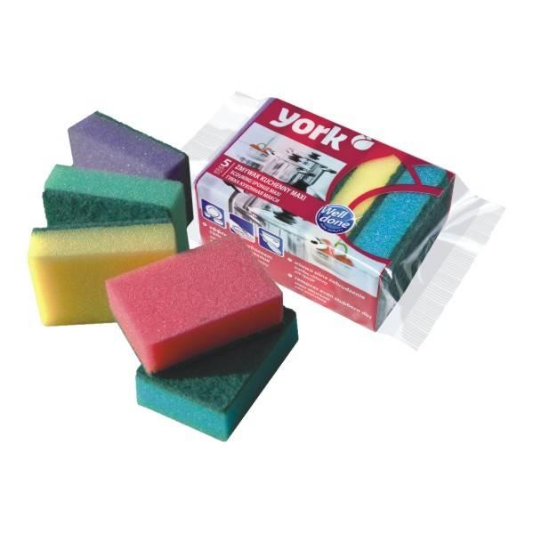 Губки для посуды YORK Maxi 5 шт