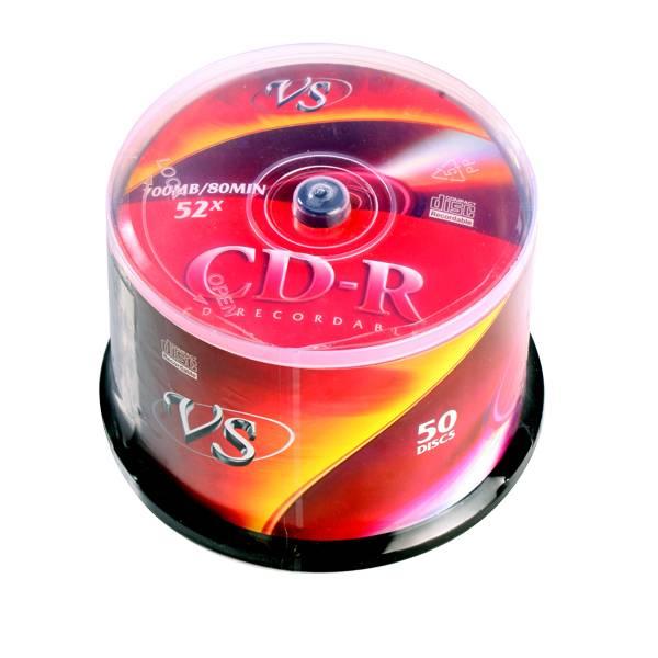 Диск CD-R VS 700 Мб 52х CB/50