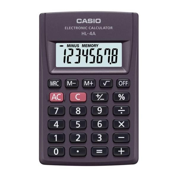 Калькулятор карманный CASIO HL-4A 8-разрядный