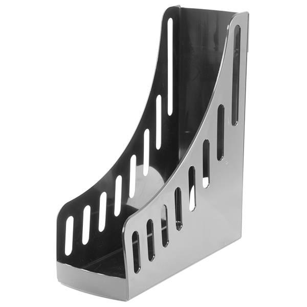 Лоток вертикальный inФОРМАТ ОФИС ширина 100 мм, черный пластик