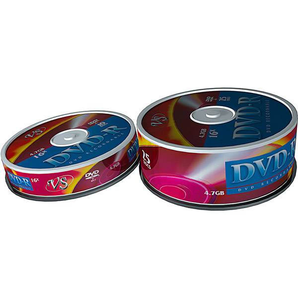 Диск DVD-R VS 4,7 Гб 16х Shrink/25 шт