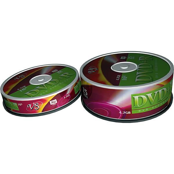 Диск DVD+R VS 4,7Гб 16х Shrink/25 шт