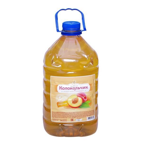 Жидкое мыло КОЛОКОЛЬЧИК Персик с глицерином 5 л (ПЭТ бутыль)