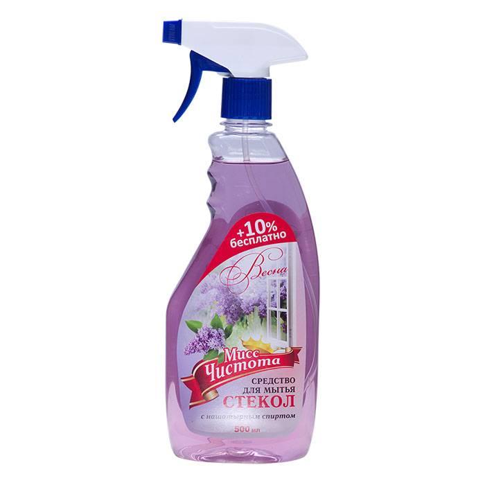 Средство для мытья стекол МИСС ЧИСТОТА Весна с курком 500 мл