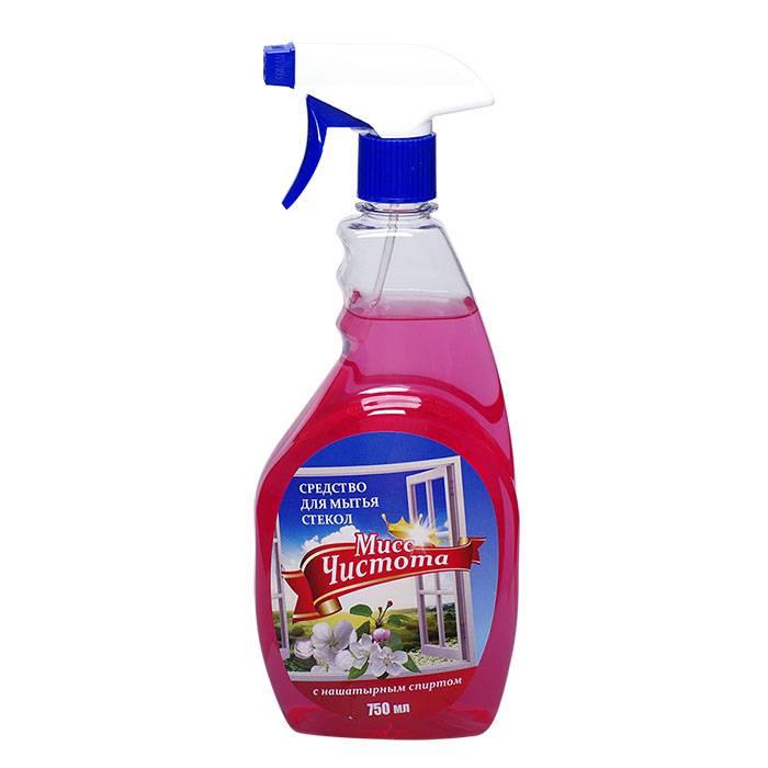 Средство для мытья стекол МИСС ЧИСТОТА Цветы Весны с курком 750 мл