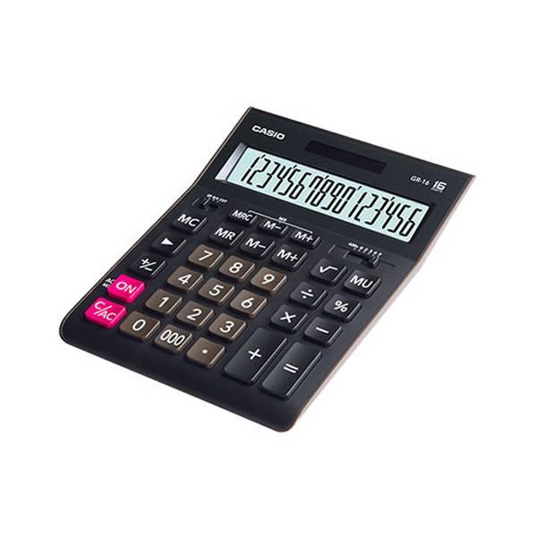 Калькулятор настольный CASIO GR-16 16-разрядный настольный