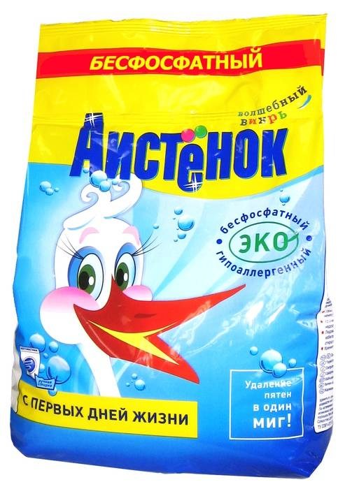 Порошок стиральный автомат АИСТЕНОК 2,4 кг