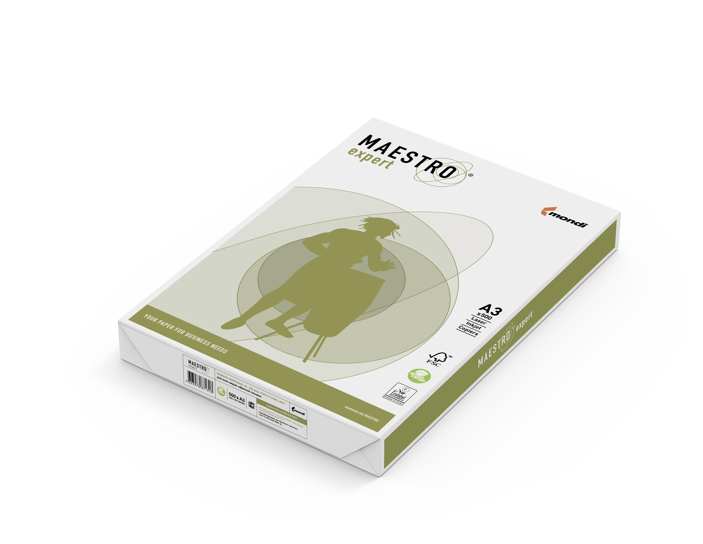 Бумага Maestro Expert 500 листов (белизна CIE 168%, 80 г/м2, А3)