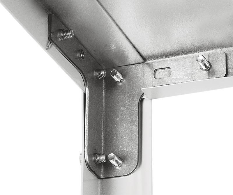 Комплект крепежа для стеллажей MS (уголки, болты, гайки) металл