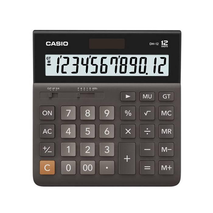 Калькулятор настольный широкоформатный CASIO DH-12 12-разрядный настольный