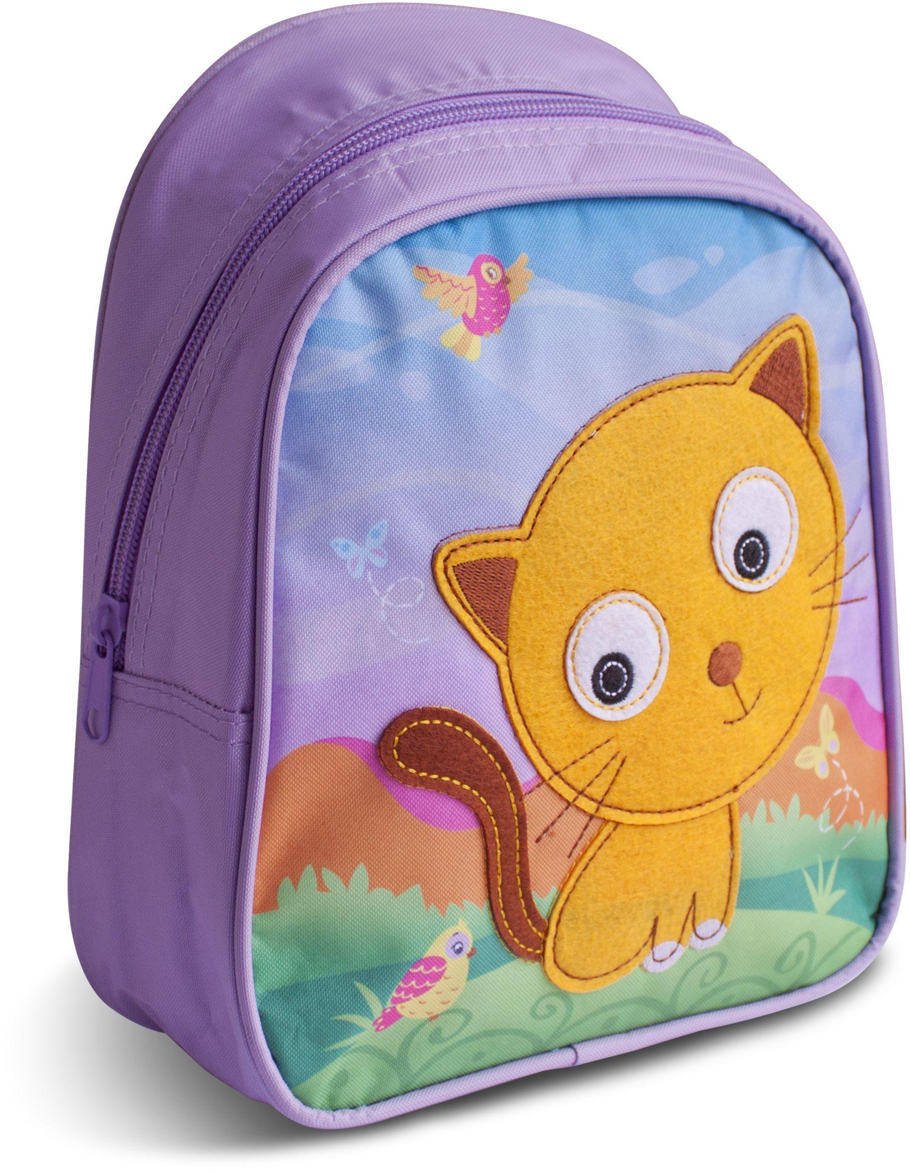 Рюкзак для дошкольника КОТ, 23х19х8 см, 3+