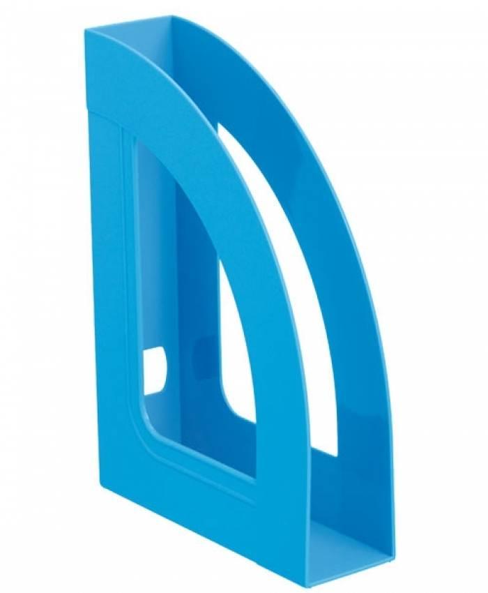 Лоток вертикальный СТАММ РЕСПЕКТ 70 мм, голубой пластик