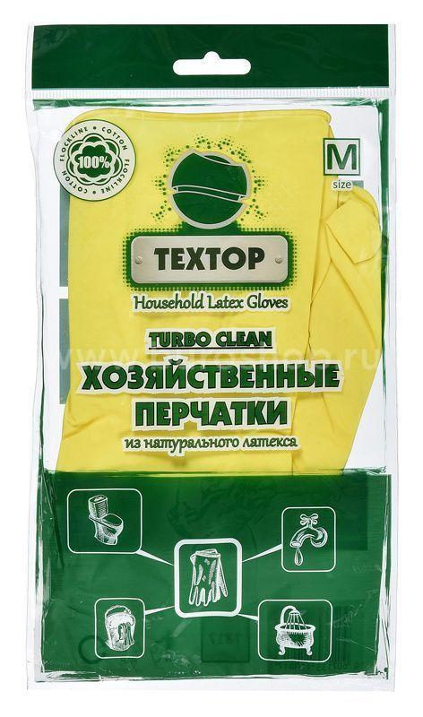 Перчатки резин. х/б напыл. ТЕХТОР M