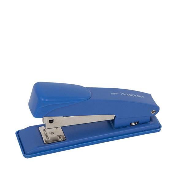 Степлер INFORMAT Office №24/6 до 15 листов, металл, синий