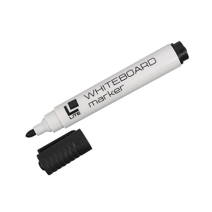 Маркер для досок LITE 3 мм черный круглый