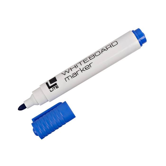 Маркер для досок LITE 3 мм синий круглый