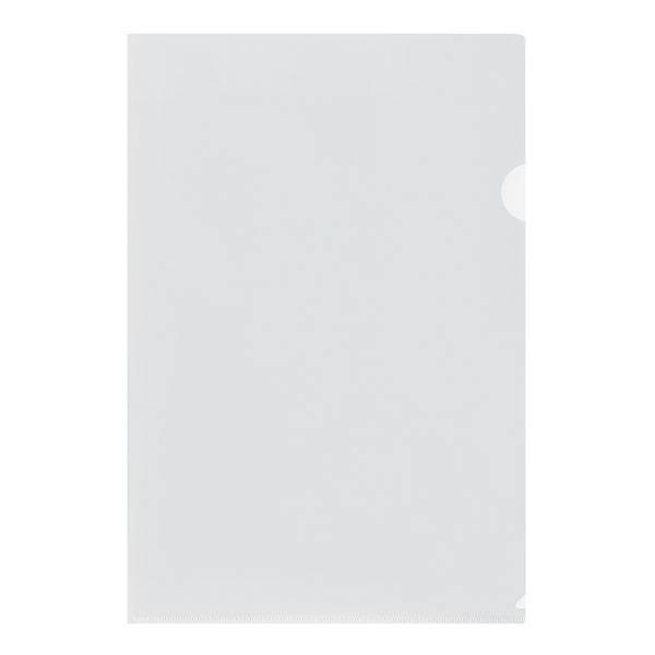 Папка-уголок LITE А4, прозрачный пластик 100 мкм