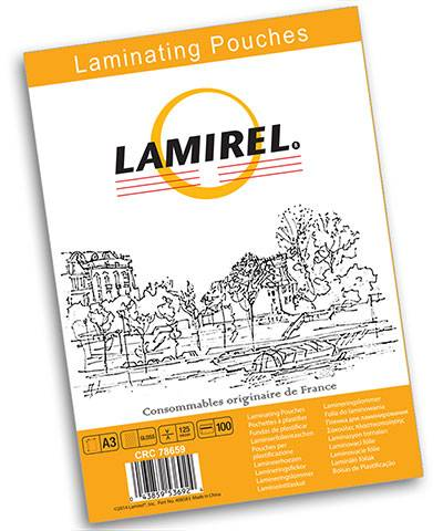 Пленка для ламинирования LAMIREL А3 125 мкм