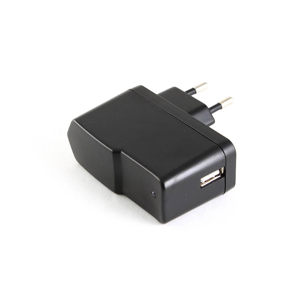 Адаптер питания Gembird MP3A-UC-AC1-B 220V-5V USB A черный