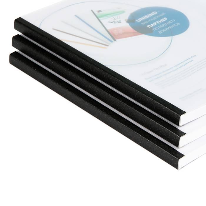 Обложка д/переплета UNIBIND UniCover Flex размер 160 прозр./матов. кварц кореш. комбинированный