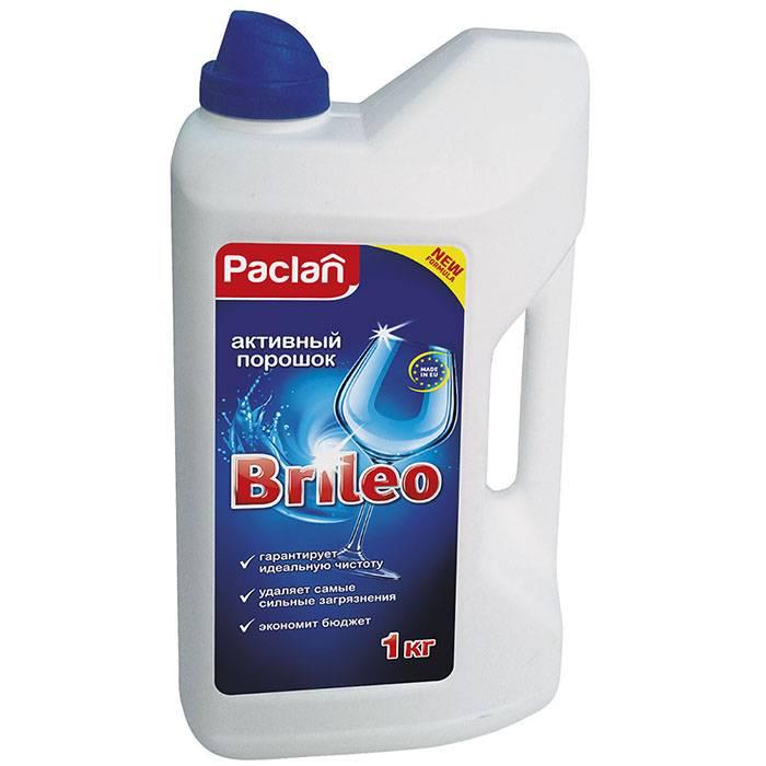 Средство для ПММ, порошок, PACLAN BRILEO, 1 кг