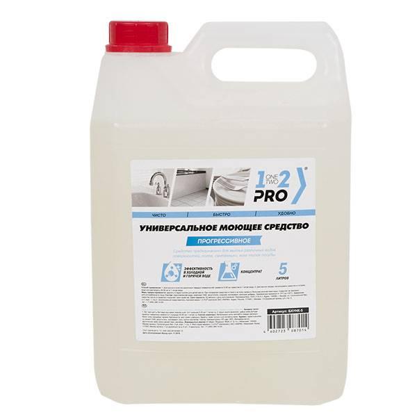 Универсальное моющее средство 1-2-Pro Прогрессивное 5 л, канистра (ПЭНД)