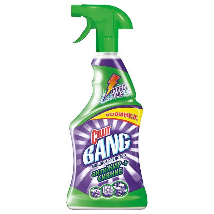 Универсальное чистящее средство CILLIT BANG Антипятна+Гигиена 750 мл с курком