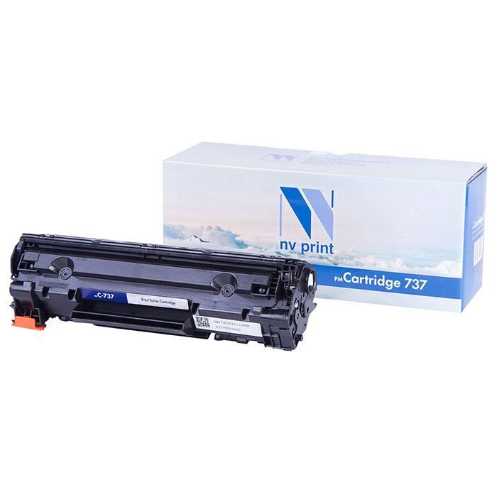 Картридж лазерный NV Print совместимый Canon 737 для i-SENSYS MF211-MF229dw черный, 2400 страниц