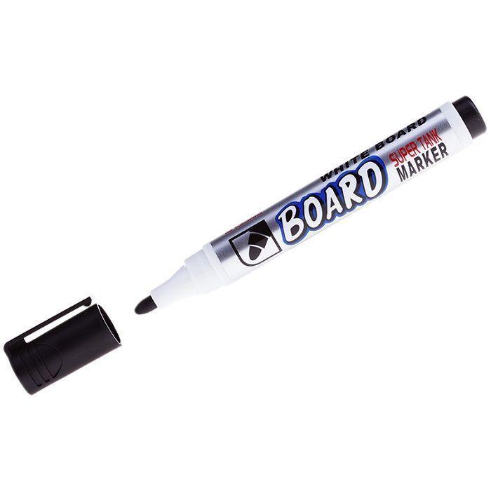 Маркер для белых досок CROWN 3 мм черный круглый